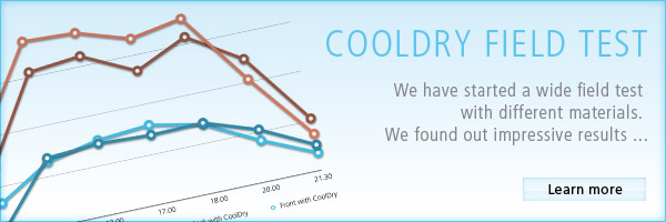 CoolDryy field test results