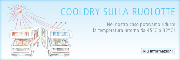 CoolDry sul Ruolotte